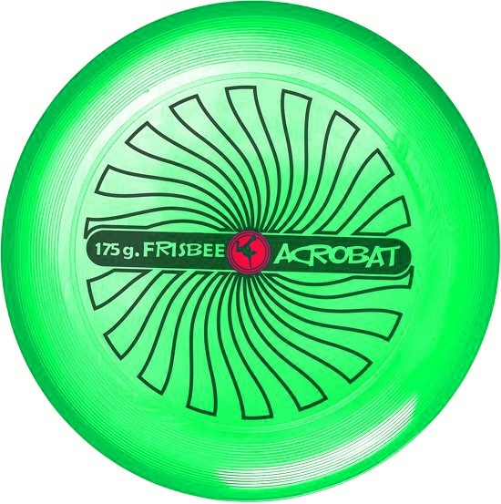 Acrobat frisbee 27,5 cm groen