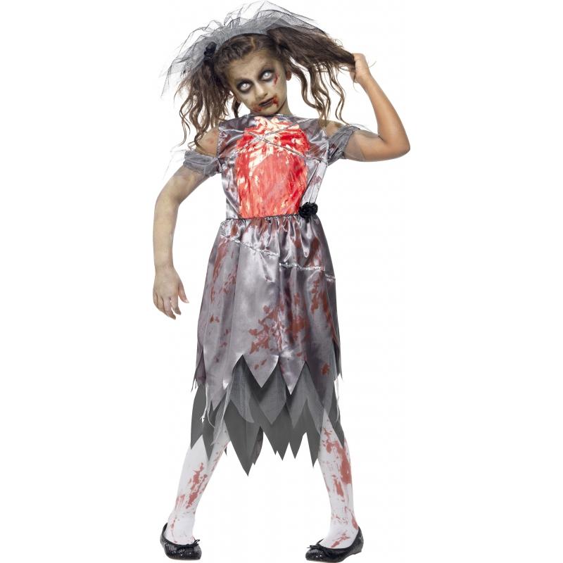 Bruiloft zombie verkleedkleding voor meisjes