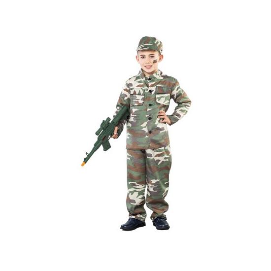 Camouflagekostuum voor jongens