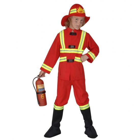 Carnaval brandweerpak kind