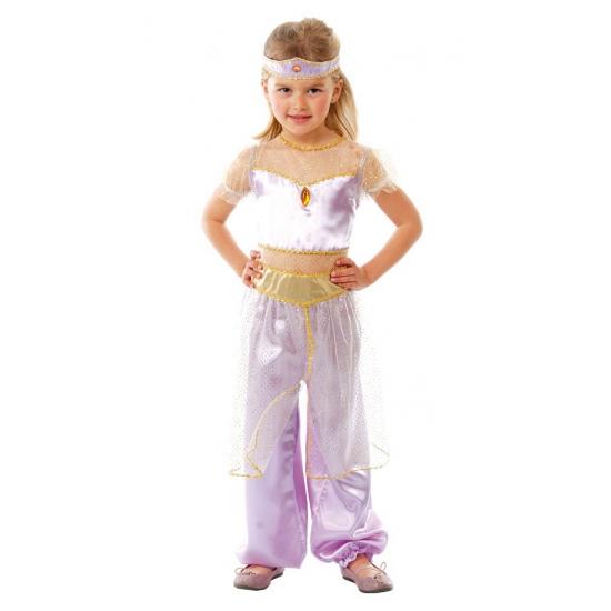 Carnavals outfit lichtpaars Arabische prinses