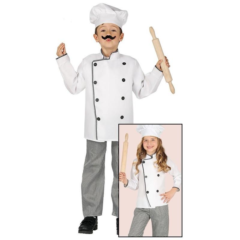 Carnavalspak kok voor kinderen