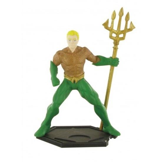 Comansi speelfiguur Justice League Aquaman 9 cm groen