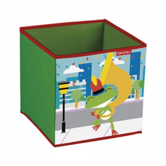 Fisher Price opbergbox kikker 31 x 31 x 31 cm groen