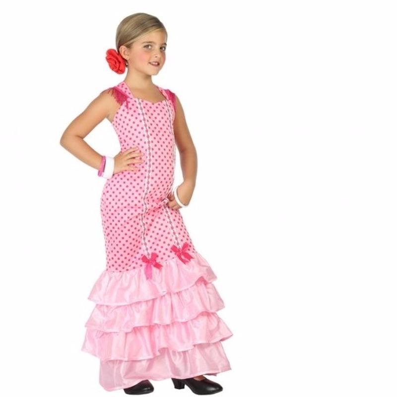 Flamenco danseressen jurk voor meisjes