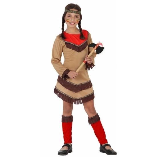 Geschiedenis indianenmeisje kostuum Chinouk