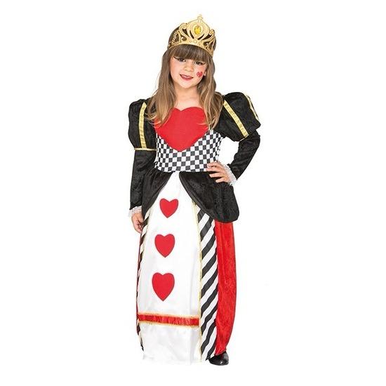 Hartjes verkleed kostuum voor meisjes