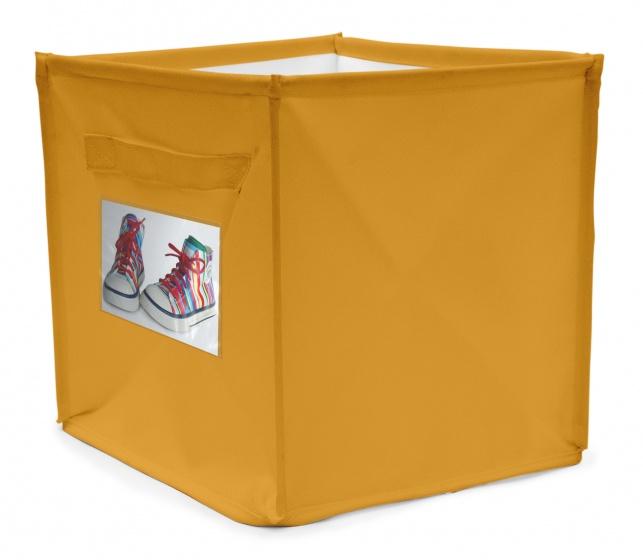 House of Kids persoonlijke opbergbox 22 liter geel