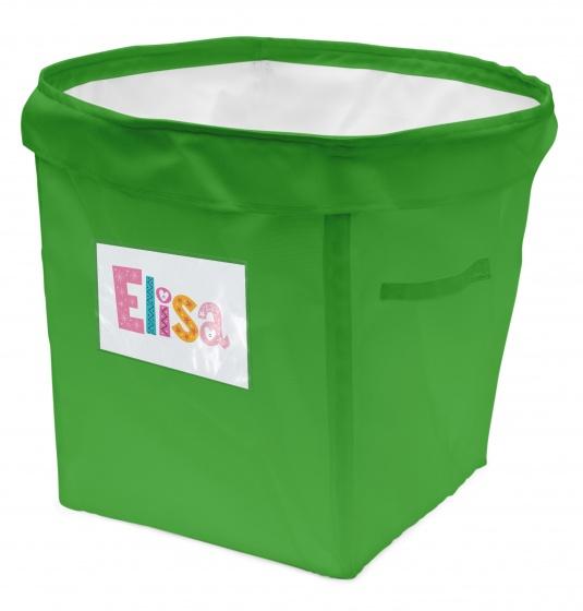 House of Kids persoonlijke opbergbox 35 liter groen