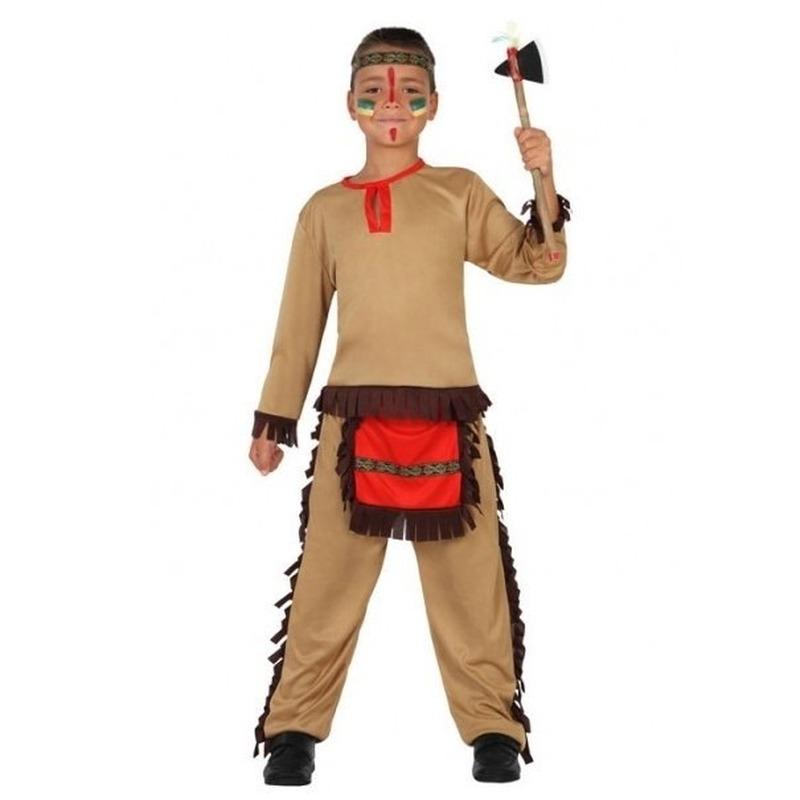 Indiaan/Indianen pak/verkleed kostuum voor jongens