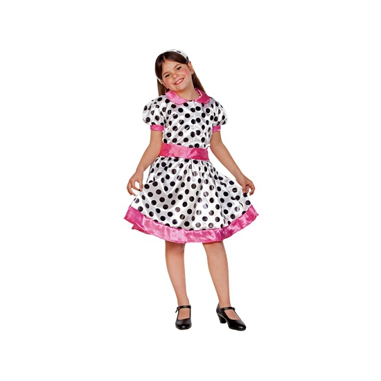 Jaren 50 carnavalskostuum voor meisjes