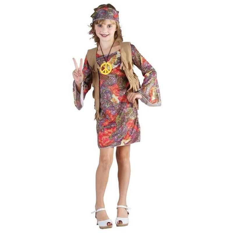 Jaren 60 verkleedkleding meisje
