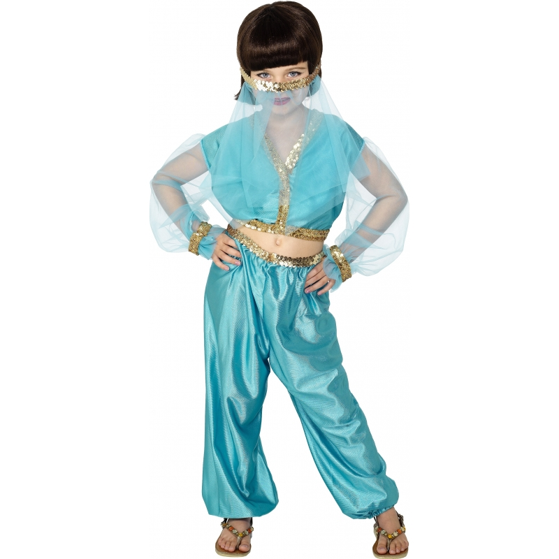 Jasmine kostuum voor meiden