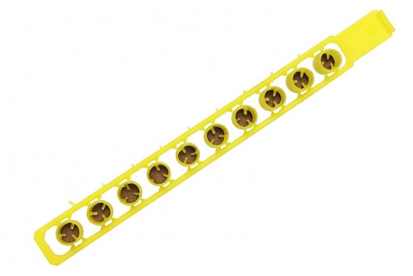 Johntoy klappers 10 shots geel 10 strips