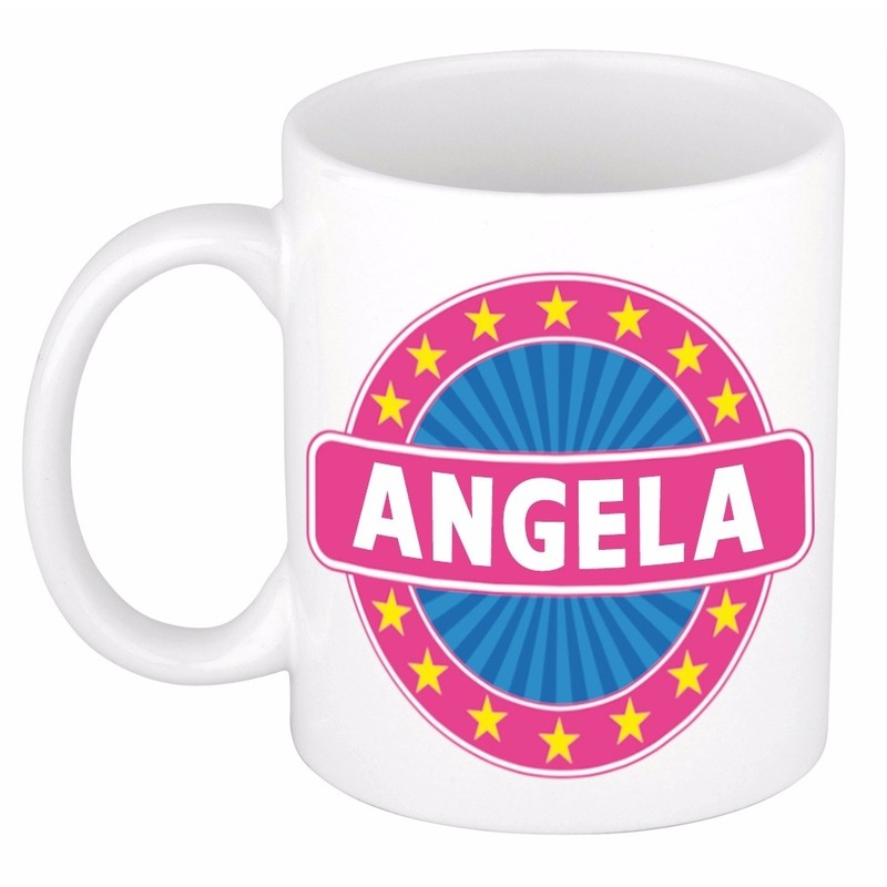 Kado mok voor Angela