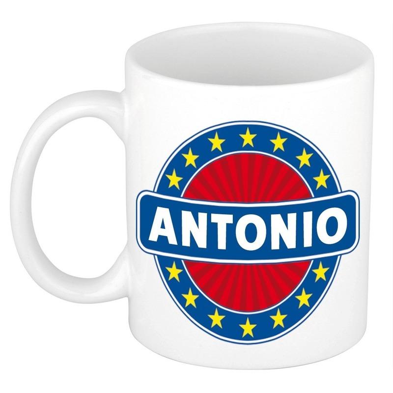 Kado mok voor Antonio