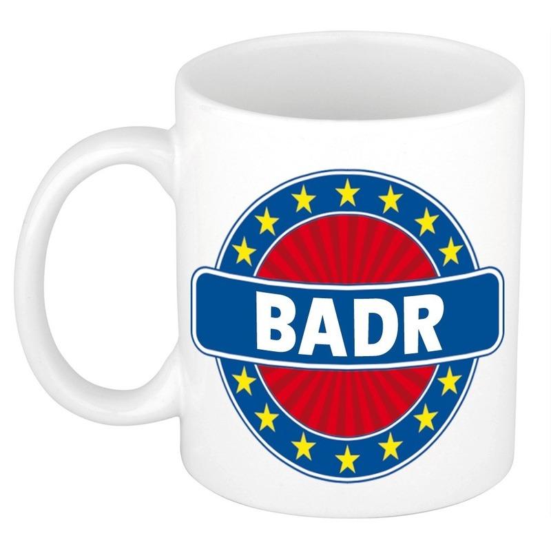 Kado mok voor Badr