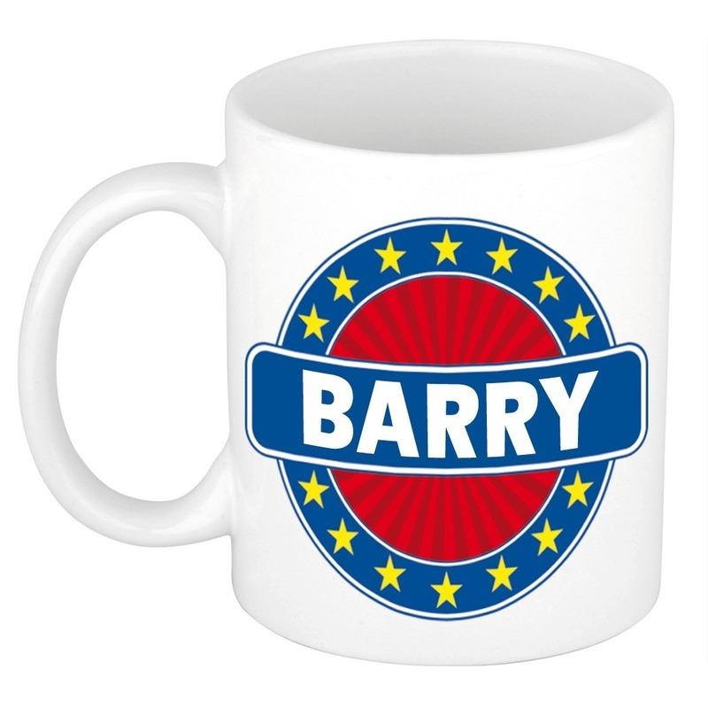 Kado mok voor Barry