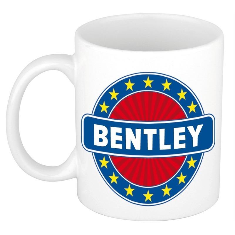 Kado mok voor Bentley