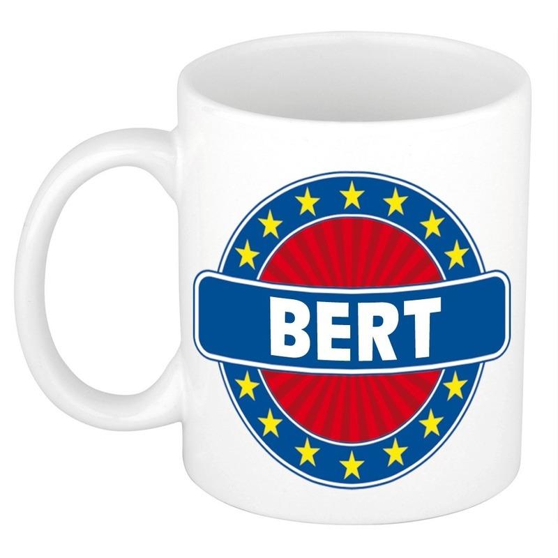 Kado mok voor Bert