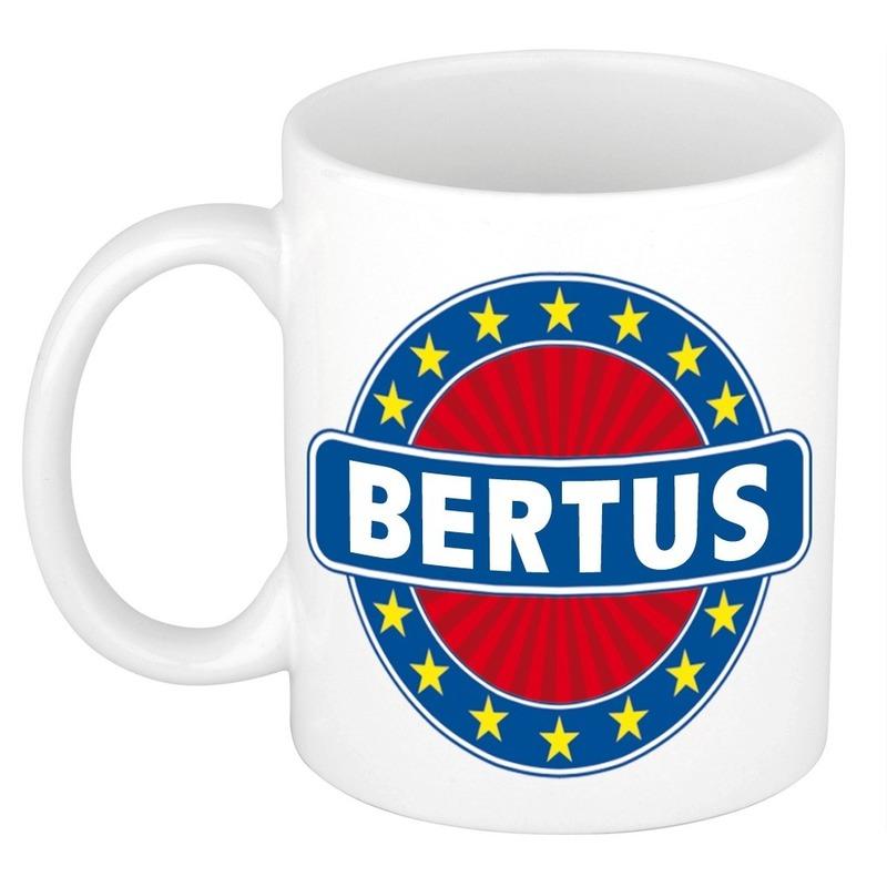 Kado mok voor Bertus