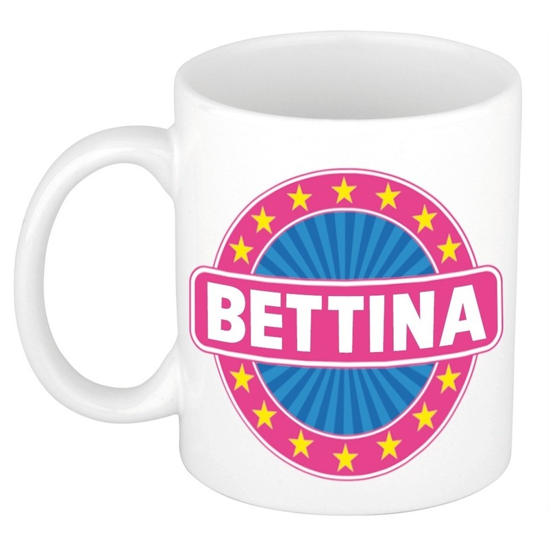 Kado mok voor Bettina