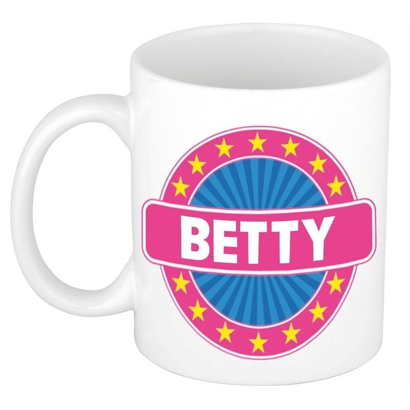 Kado mok voor Betty
