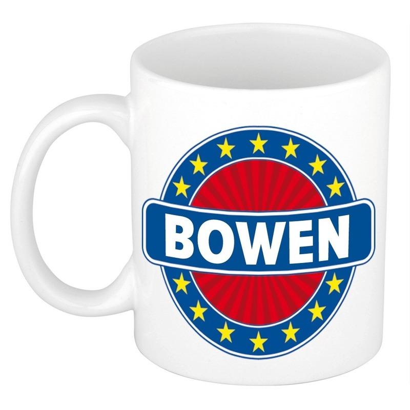 Kado mok voor Bowen