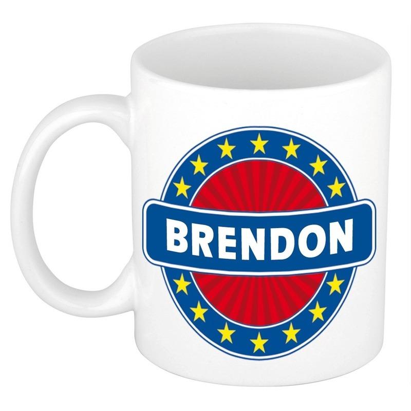 Kado mok voor Brendon