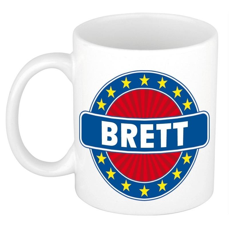 Kado mok voor Brett