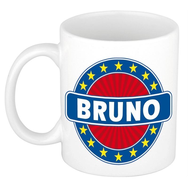 Kado mok voor Bruno