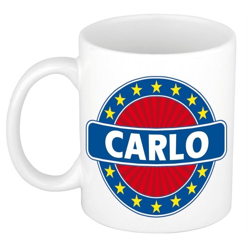 Kado mok voor Carlo
