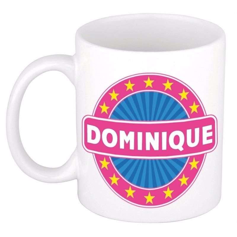 Kado mok voor Dominique