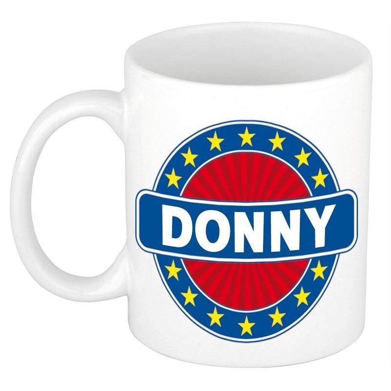Kado mok voor Donny
