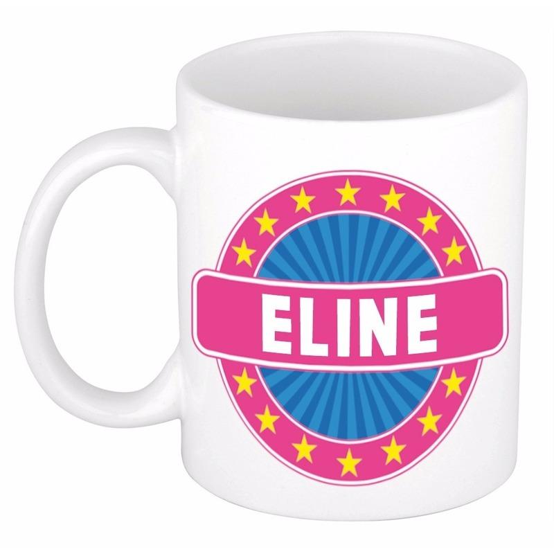 Kado mok voor Eline