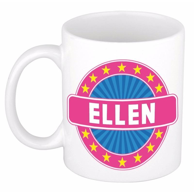 Kado mok voor Ellen