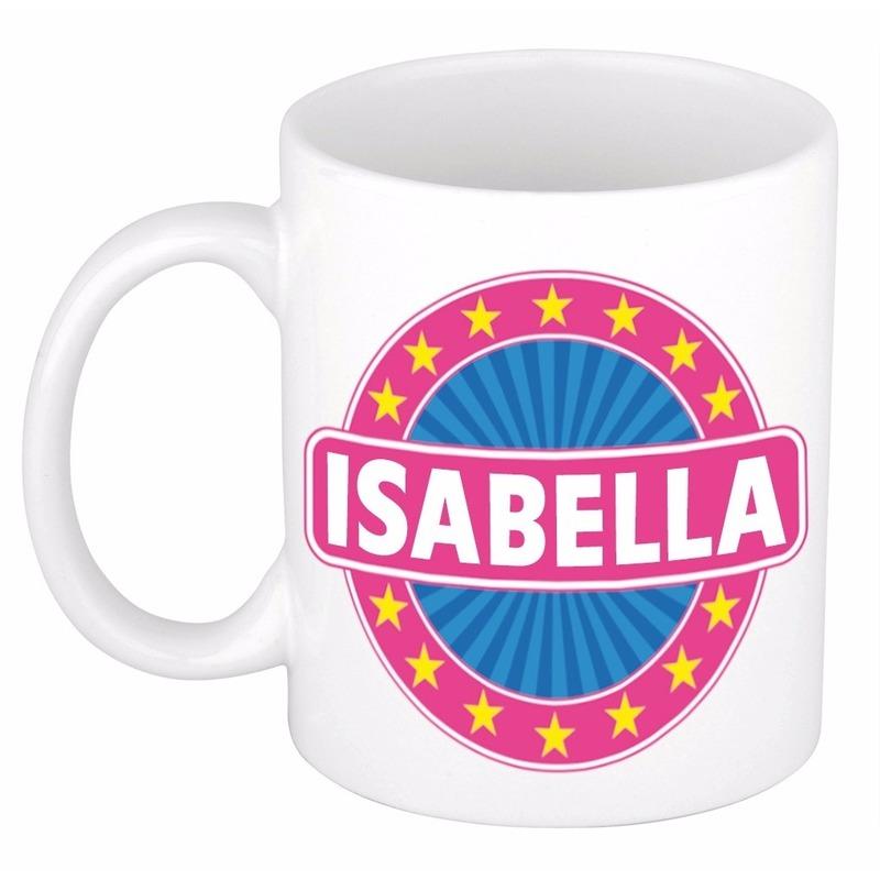 Kado mok voor Isabella