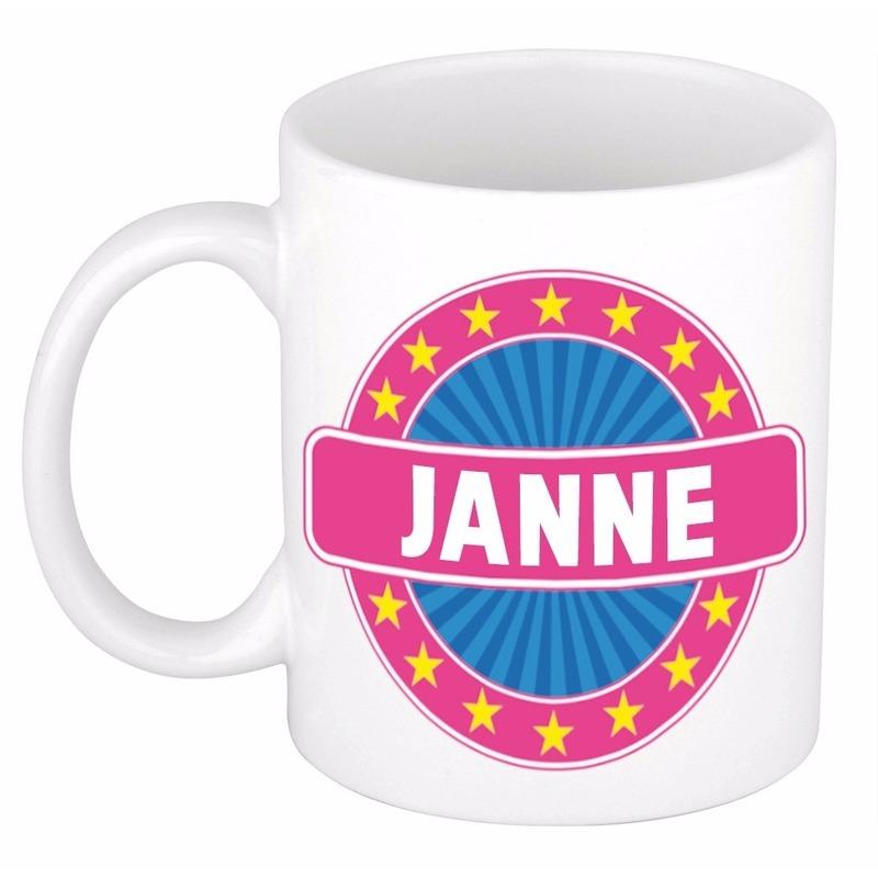 Kado mok voor Janne