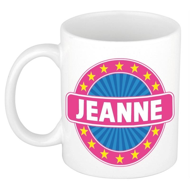 Kado mok voor Jeanne