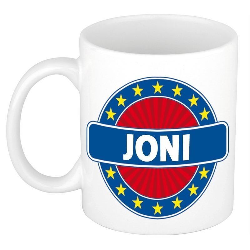 Kado mok voor Joni