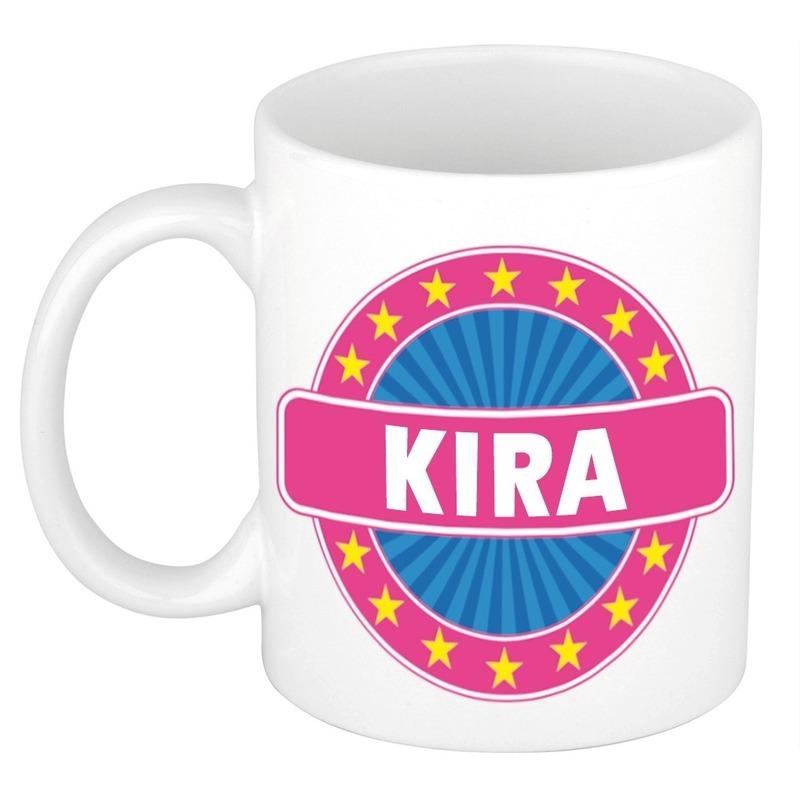 Kado mok voor Kira