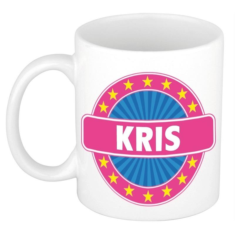 Kado mok voor Kris