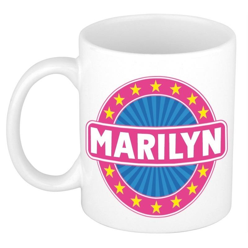 Kado mok voor Marilyn