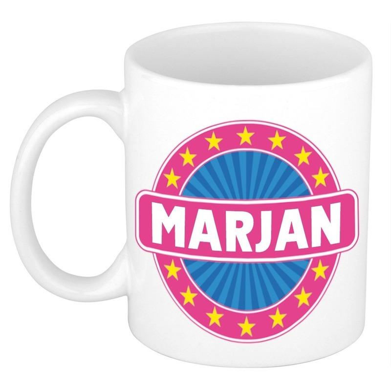 Kado mok voor Marjan