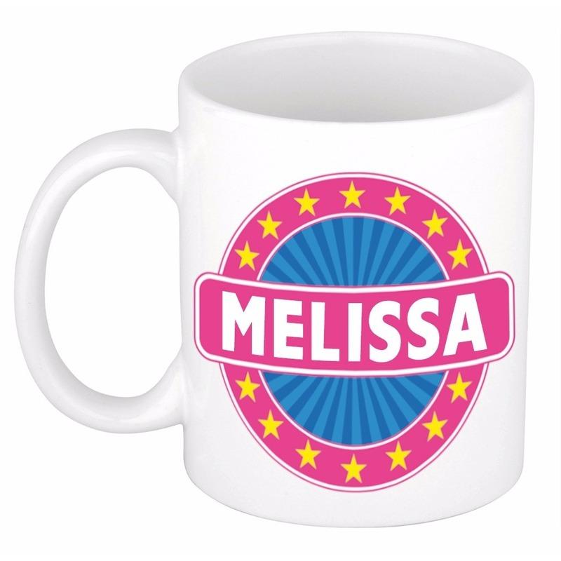 Kado mok voor Melissa