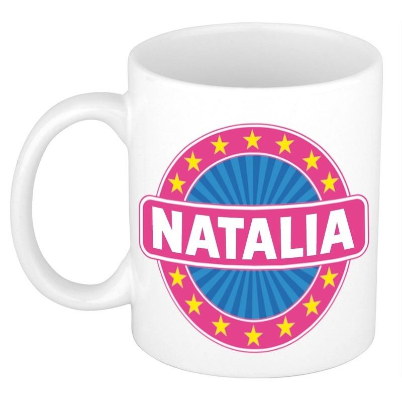 Kado mok voor Natalia