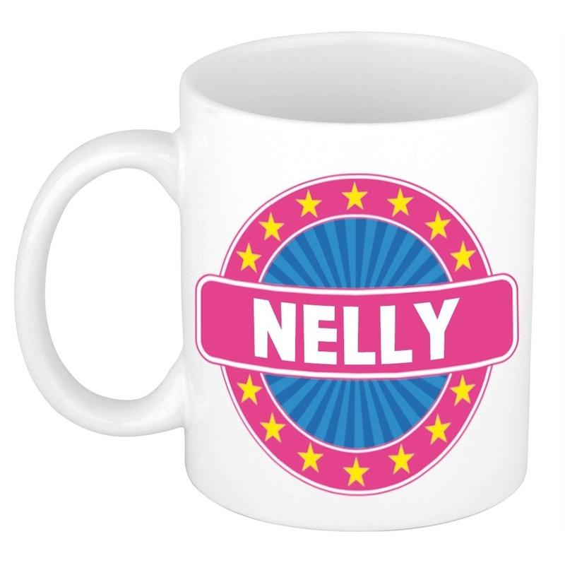 Kado mok voor Nelly