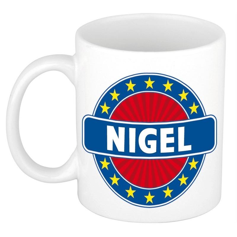 Kado mok voor Nigel