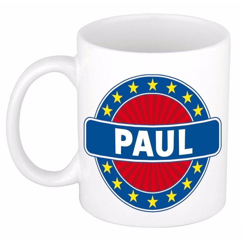 Kado mok voor Paul