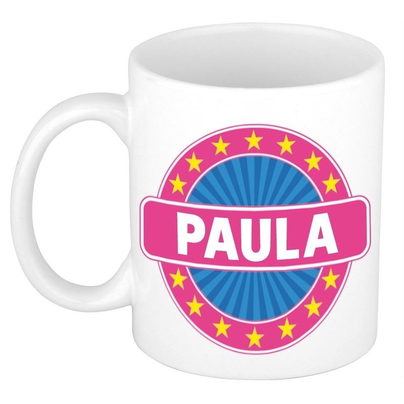 Kado mok voor Paula